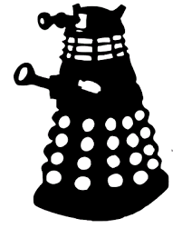 Doctor Who Dalek Decal Sticker Car Wall Window Laptop 25 X 18cm Various Colours Ebay