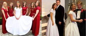 Keeping up with Fundies — Did Priscilla Keller wear Anna's dress for her...