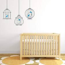 Bird Cage Wall Decal Nursery Wall Sticker Db315 Designedbeginnings