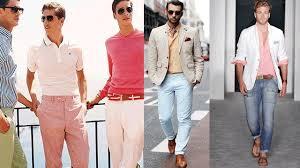 prendas tono pastel men fashion style