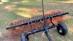 pine straw rake you