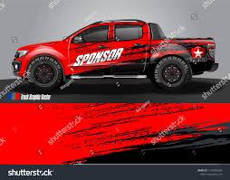 Pick Truck Car Decal Design Vector Stock Vector Royalty Free 1167306586