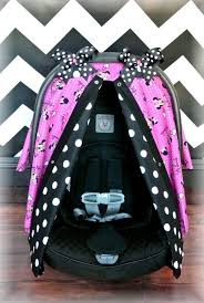 minnie mouse cat canopy car seat