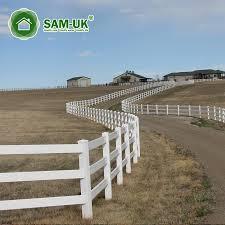 16 Ft 3 Rail Vinyl Horse Fencing Cost Effective Mula Sa China Manufacturer Sam Uk