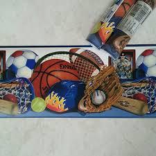 Chesapeake Wall Art Wallpaper Border All Sports Kids Room Decor Poshmark