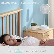 Amazon Com Portable Standing Fan Foldable Desk Fan 10000mah Battery Usb Powered 9 Speeds Silence Air Circulator Fan With Remote Control 8h Timer Mini Floor Telescopic Pedestal Fans For Bedroom Office Camping