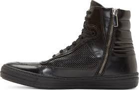 sel black gold black leather major