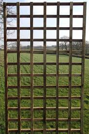 Square Trellis Panel Pressure Treated Heavy Duty Timber Etsy