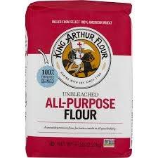 2 Pack) King Arthur Flour Unbleached All-Purpose Flour 5 lb. Bag -  Walmart.com - Walmart.com