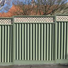 Fence Paint Garden Fence Diy Tips Inspirational Ideas