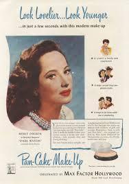 1940s makeup adver saubhaya makeup