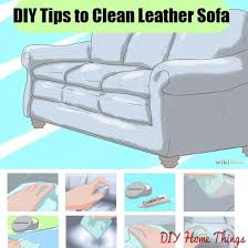top tips to clean your leather sofa
