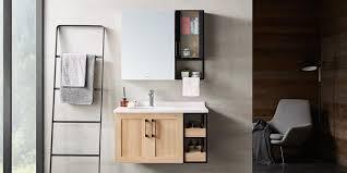 storage modern mirror bathroom cabinet