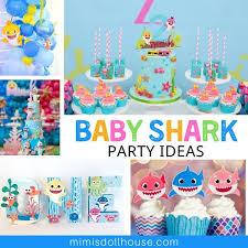 fun baby shark birthday ideas