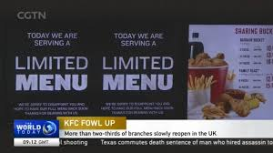 kfc fowl up more than two thirds of