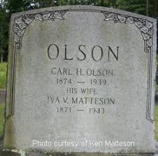 Iva Viola Matteson Olson (1871-1943) - Find A Grave Memorial