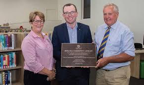 Adam Marshall officially opens Bingara Library - Bingara