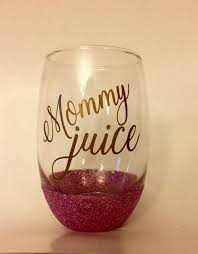 Vinyl Decal For Wine Glasses Stemless Wine Glass Glittered Wine Glass Mommy Juice Equalmarriagefl Vinyl From Vinyl Decal For Wine Glasses Pictures