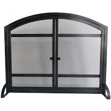 gas fireplace screens