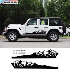 Pickup Truck Decor Vinyl Decal Off Road Mountain Graphics Sticker Car Camel Styling Auto Body Door Side Customized Sticker Car Stickers Aliexpress