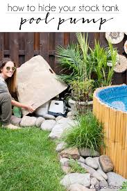 The Perfect Stock Tank Pool Pump Cover Cuckoo4design