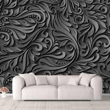 Nwt Wall Murals For Bedroom Beautiful 3d View Pattern Flowers Removable Wallpaper Peel And Stick Wall Stickers 100x144 Inches Amazon Com