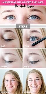 winged eyeliner for your eye shape
