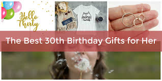 30th birthday gifts for her adventures