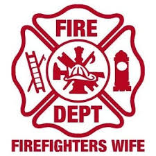 Amazon Com Firefighter Sticker 4 X 4 Firefighters Wife Maltese Cross Exterior Window Decal Automotive