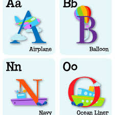Abc Wall Decals Alphabet Wall Decals From Abeo Designs