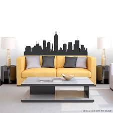Indianapolis Indiana Skyline Vinyl Wall Decal Sticker