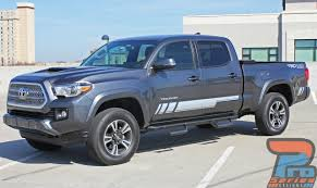 Toyota Tacoma Side Stripe Decals Core 2015 2016 2017 2018 2019 2020