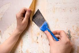 remove wallpaper glue in 5 simple steps