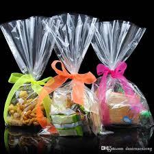 clear food grade cellophane cello bags