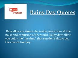 ppt beautiful rainy day quotes quotes hunter powerpoint