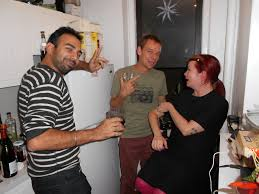 Anand, Alan, and Lesley   West Village   Abeer Hoque   Flickr