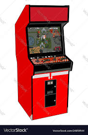 video game on white background vector image