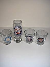 busters shot glasses four dallas themed