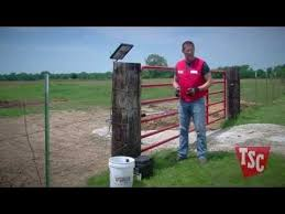 Automatic Gate Opener Buying Guide Fencing Tractor Supply Co Farm Gate Entrance Farm Gate Farm Entrance