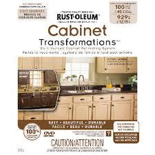 rust oleum cabinet refinishing system