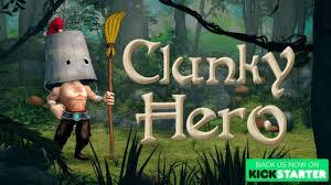 Clunky Hero Kickstarter - A Humorous Metroidvania - SwitchWatch