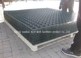 6 Gauge 2 X 2 Welded Wire Mesh Panels High Strength Square Hole Shape