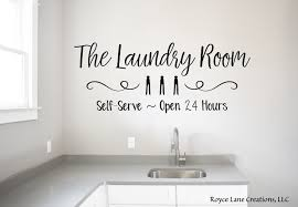 Laundry Room Open 24 Hours Decal Self Service Laundry Decal Etsy Laundry Room Decals Laundry Room Laundry Decals