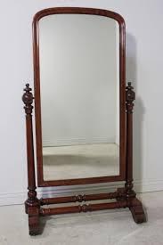 iv antique full length cheval mirror