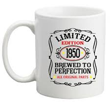 70th birthday gift 1950 gift idea for