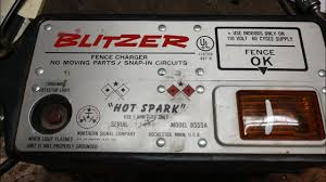 Old Blitzer Model 8555a Solid State Fence Charger Repair Youtube