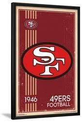 San Francisco 49ers Posters Prints Paintings Wall Art For Sale Allposters Com