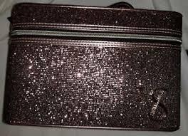 makeup cosmetic bag pink glitter