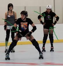 roller derby s or roller skaters