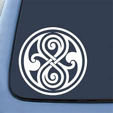 Whovian Seal Of Rassilon Car Sticker Die Cut Decal Notebook Car Laptop 5 5 White Style Stickers Design Sticker Seal Sticker Seal Car Aliexpress